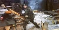 André Horn beim Aufräumen im Kosovo. Foto: Udo Horn