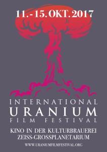 2017 Berlin Uranium Film Festival poster