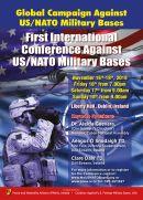"""Erste Internationale Konferenz """"Gegen US- / NATO-Militärstützpunkte"""" in Dublin"""